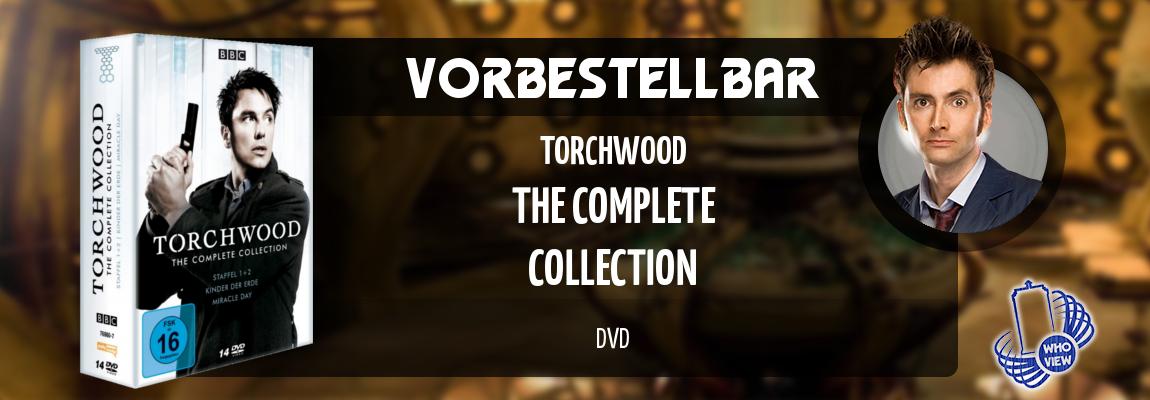 Vorbestellbar | Torchwood – The Complete Collection | DVD