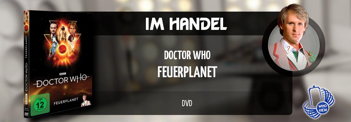 Im Handel | Doctor Who – Feuerplanet | DVD