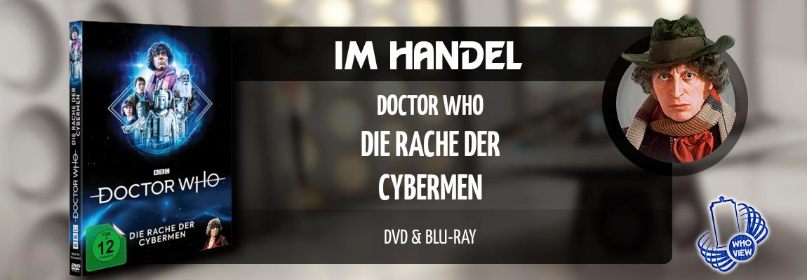 Im Handel | Doctor Who – Die Rache der Cybermen | DVD & Bluray