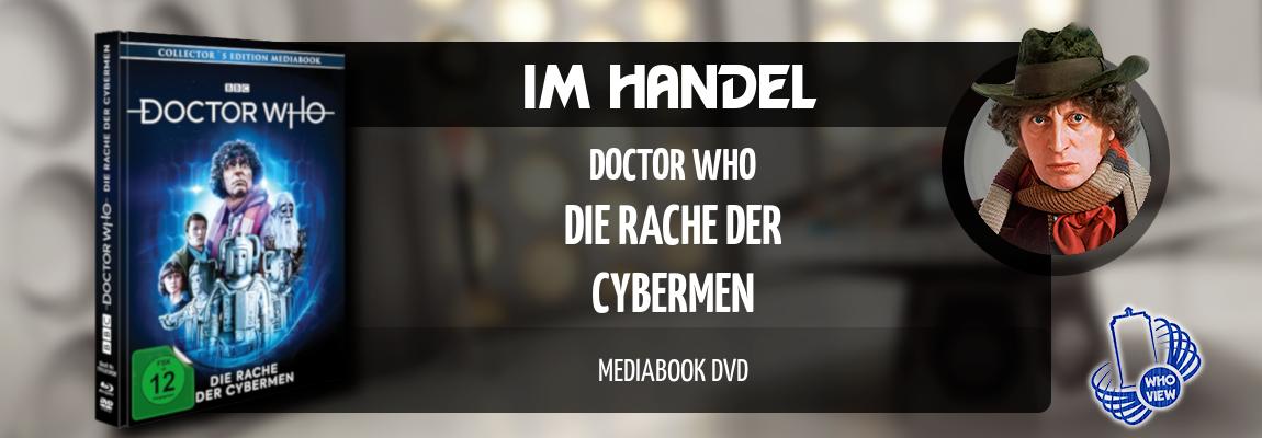 Im Handel | Doctor Who – Die Rache der Cybermen | Mediabook DVD