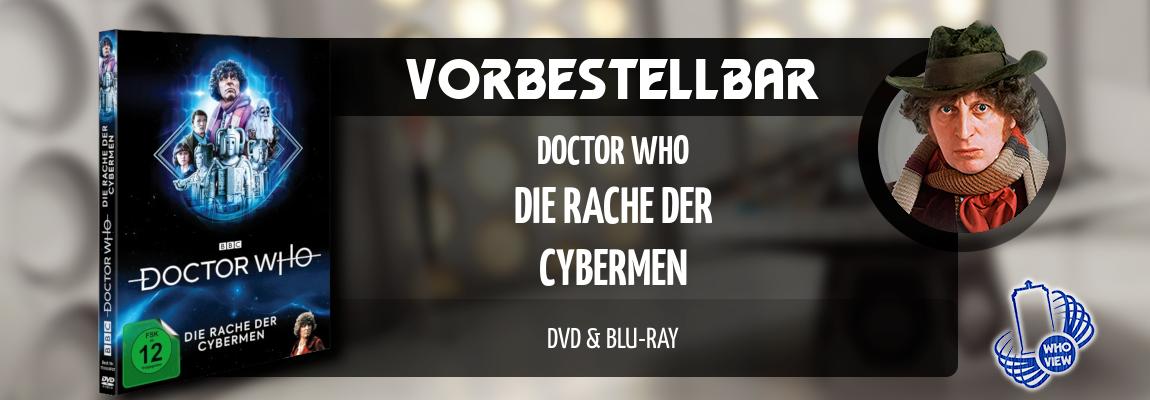 Vorbestellbar | Doctor Who – Die Rache der Cybermen | DVD & Blu-ray