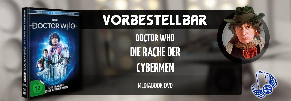 Vorbestellbar | Doctor Who – Die Rache der Cybermen | Mediabook DVD