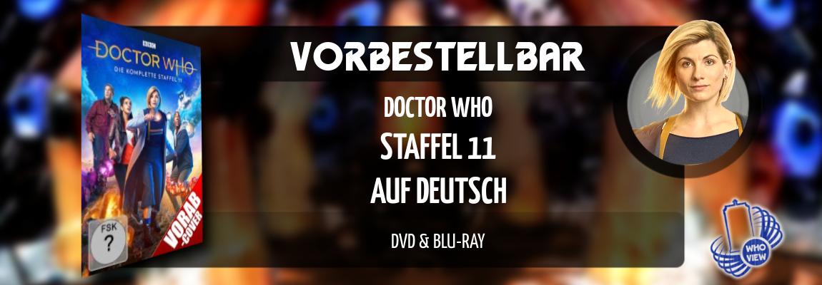 Vorbestellbar | Doctor Who: Staffel 11 – Auf Deutsch | DVD & Blu-ray