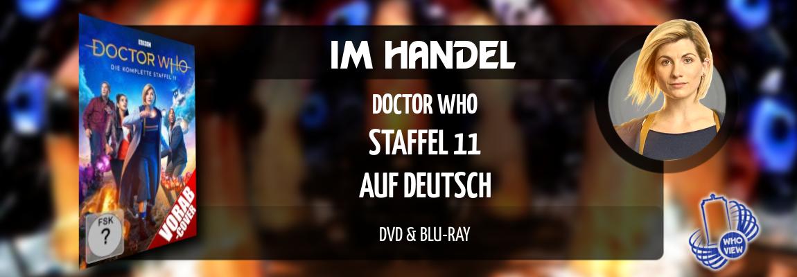 Im Handel | Doctor Who: Staffel 11 – Auf Deutsch | DVD & Blu-ray