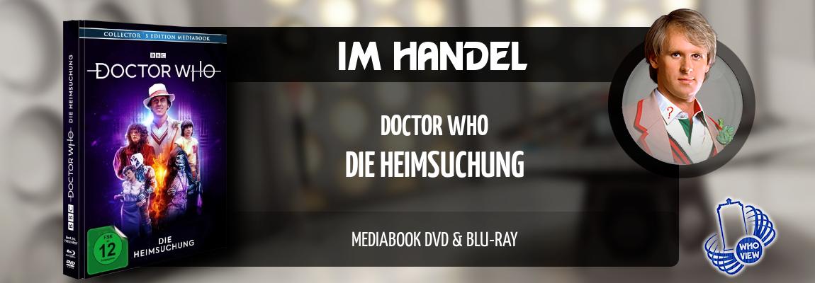 Im Handel | Doctor Who – Die Heimsuchung | Mediabook DVD & Blu-ray