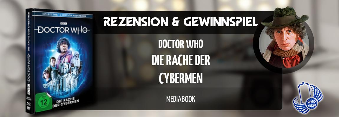 Rezension & Gewinnspiel | Doctor Who – Die Rache der Cybermen | Mediabook