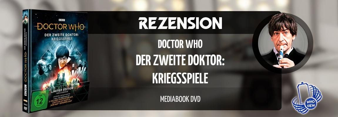 Rezension | Doctor Who – Kriegsspiele | Mediabook DVD