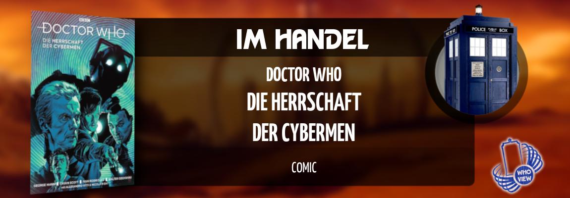 Im Handel | Doctor Who – Die Herrschaft der Cybermen | Comic