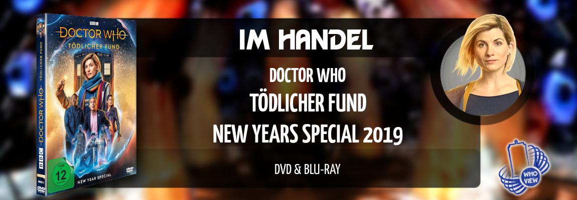 Im Handel | Doctor Who – Tödlicher Fund | DVD & Blu-ray