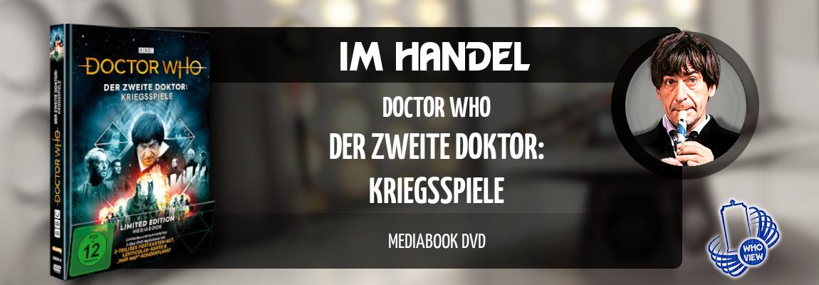 Im Handel | Doctor Who – Kriegsspiele | Mediabook DVD
