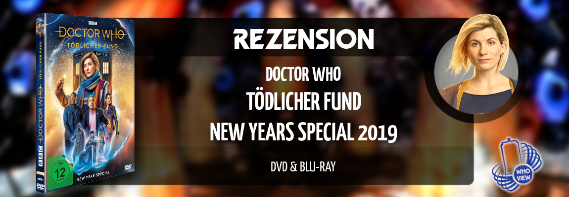 Rezension | Doctor Who – Tödlicher Fund | DVD & Blu-ray