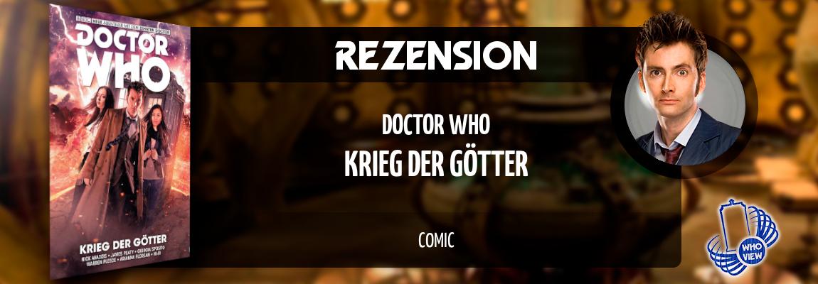 Rezension | Doctor Who – Krieg der Götter | Comic