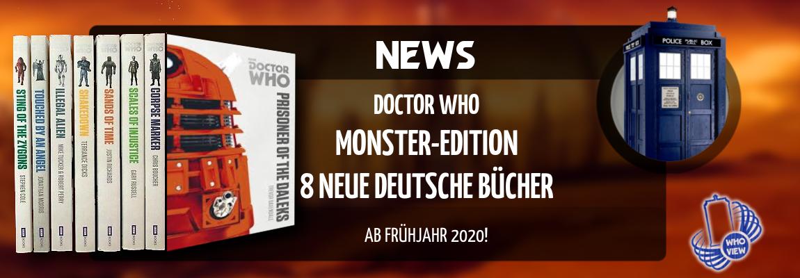 News | Doctor Who – Monster-Edition: auf deutsch angekündigt | Bücher