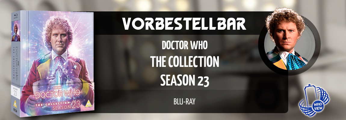 Vorbestellbar | Doctor Who: The Collection – Season 23 | Blu-ray