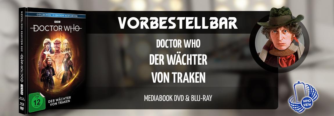 Vorbestellbar | Doctor Who – Der Wächter von Traken | Mediabook, DVD & Blu-ray