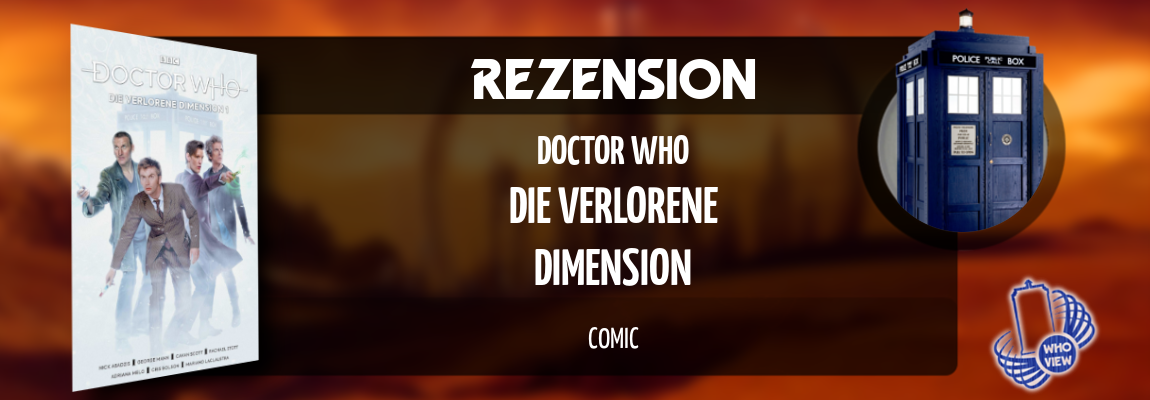 Rezension | Doctor Who – Die verlorene Dimension 1 | Comic