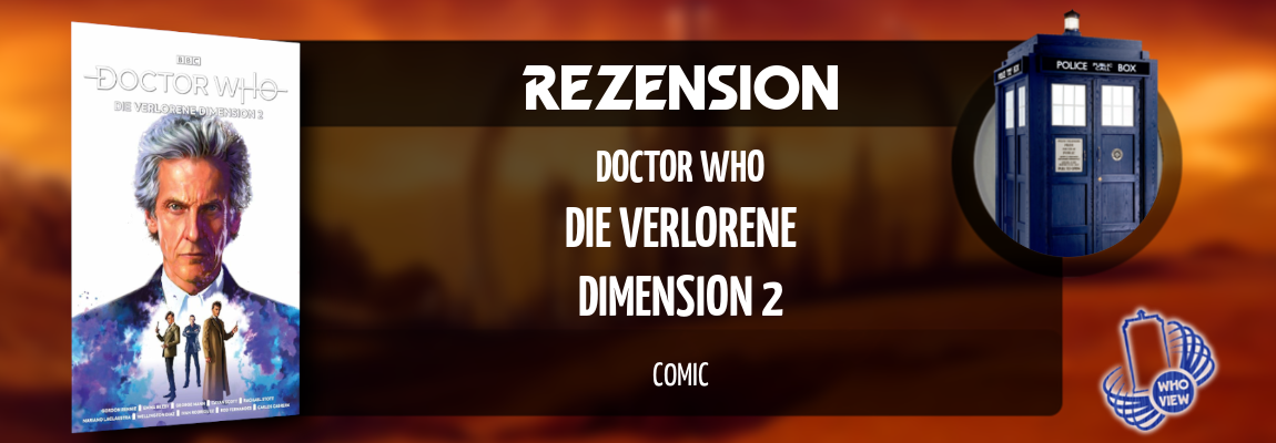 Rezension | Doctor Who – Die verlorene Dimension 2 | Comic
