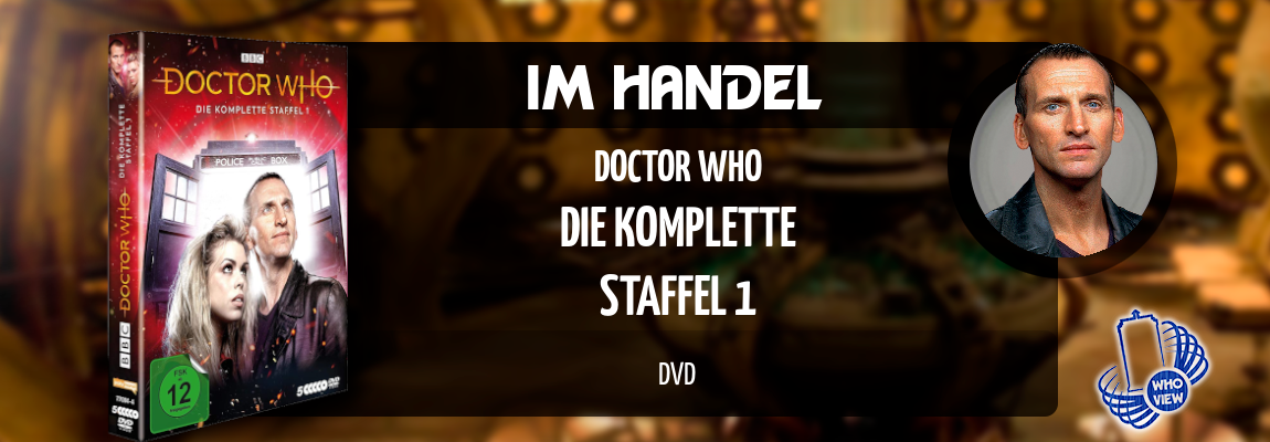 Im Handel | Doctor Who – Die komplette Staffel 1 | DVD