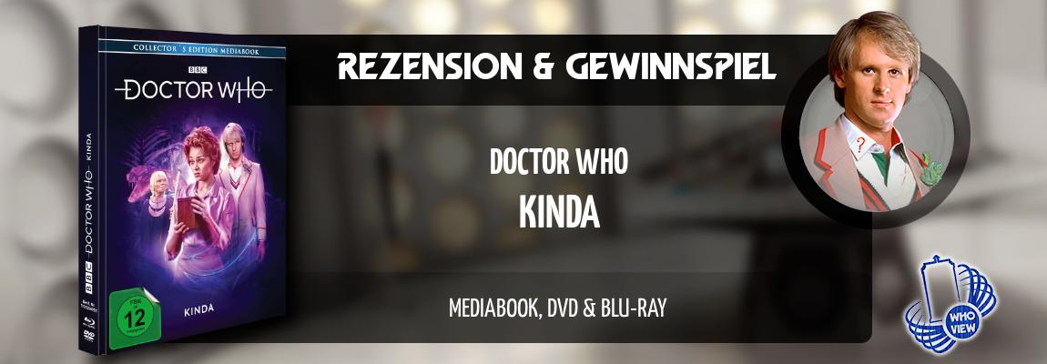 Rezension & Gewinnspiel | Doctor Who – Kinda | Mediabook DVD & Blu-ray