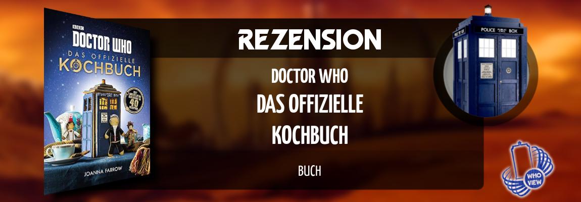 Rezension | Doctor Who – Das offizielle Kochbuch | Buch