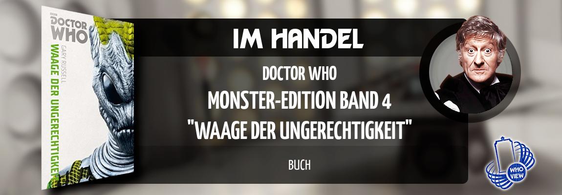 Im Handel | Monster-Edition: Band 4 – Waage der Ungerechtigkeit | Buch