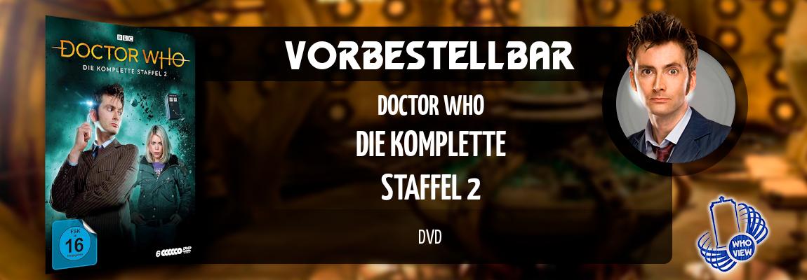 Vorbestellbar | Doctor Who – Die komplette Staffel 2 | DVD