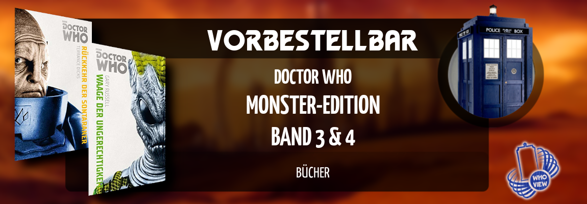 Vorbestellbar | Doctor Who – Monster-Edition: Band 3&4 | Bücher