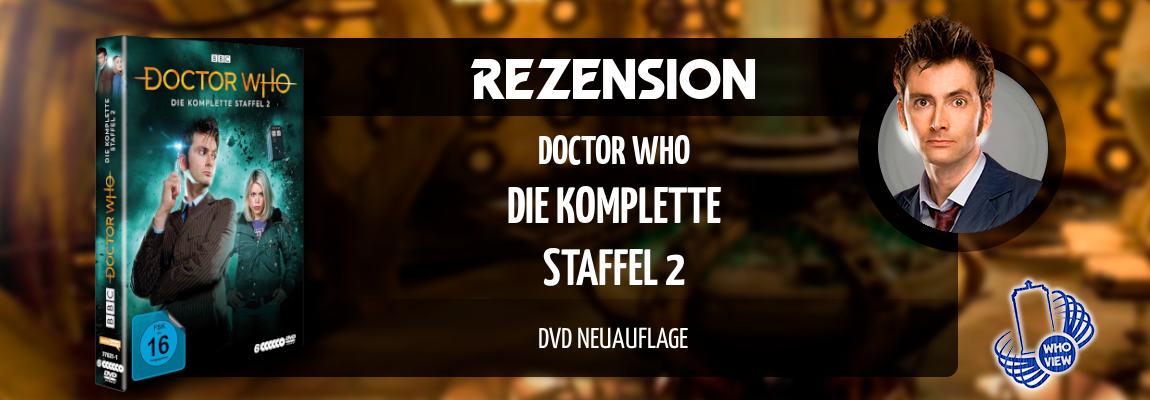 Rezension | Doctor Who – Die komplette Staffel 2 | DVD Neuauflage