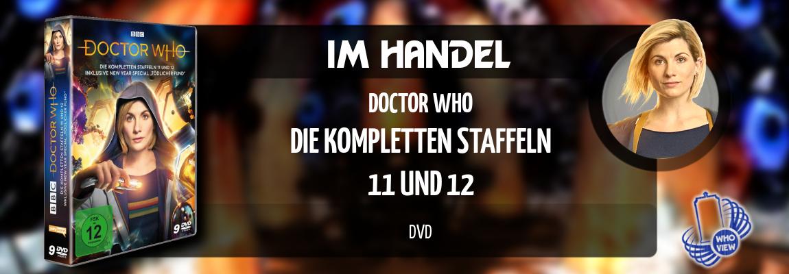 Im Handel | Doctor Who – Die kompletten Staffeln 11 und 12 | DVD