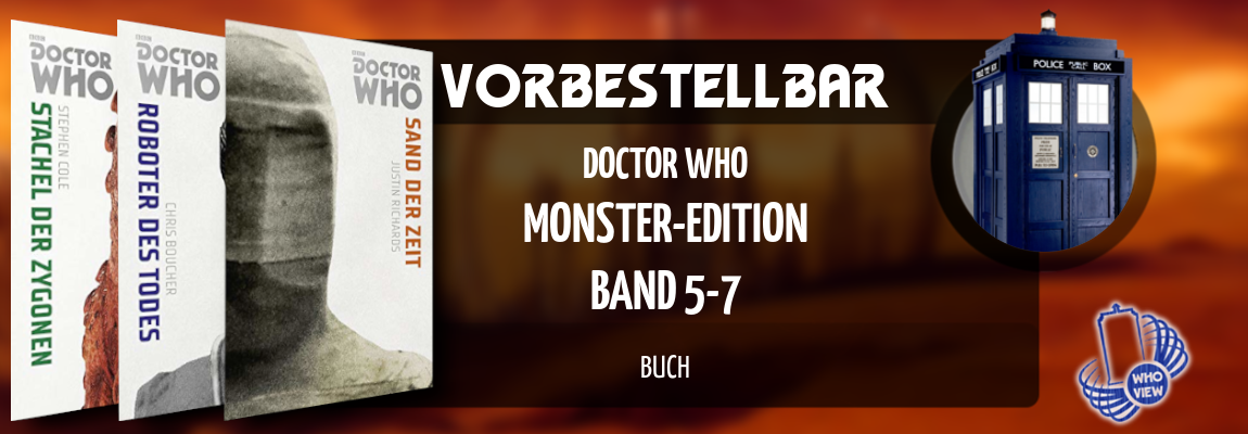 Vorbestellbar | Doctor Who – Monster-Edition 5-7 | Buch