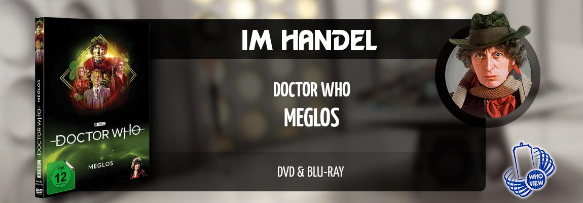 Im Handel | Doctor Who – Meglos | Reguläre DVD & Blu-ray