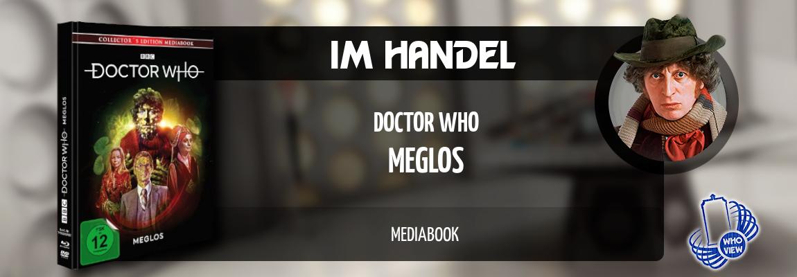 Im Handel | Doctor Who – Meglos | Mediabook mit DVD & Blu-ray