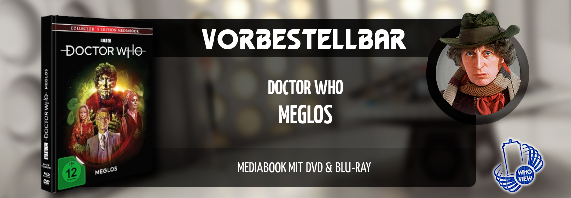 Vorbestellbar | Doctor Who – Meglos | Mediabook, DVD & Blu-ray