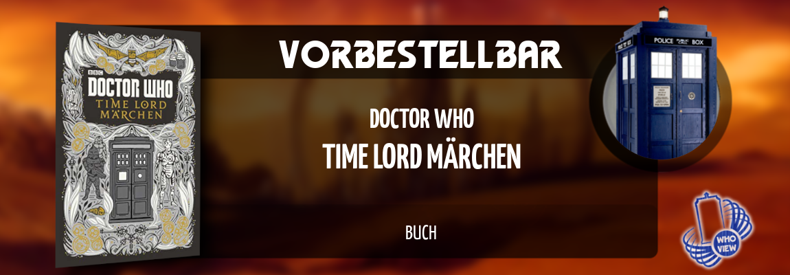 Vorbestellbar | Doctor Who – Time Lord Märchen | Buch