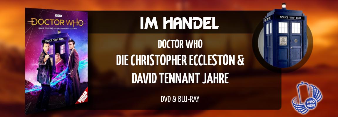 Im Handel | Doctor Who – Die Christopher Eccleston & David Tennant Jahre | DVD & Blu-ray