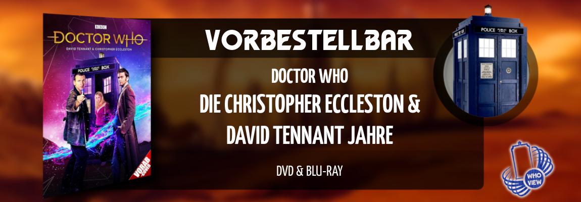 Vorbestellbar | Doctor Who – Die Christopher Eccleston & David Tennant Jahre | DVD & Blu-ray