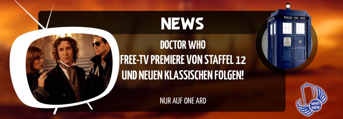 News | Staffel 12 und neue klassische Folgen im Free-TV | Nur auf One ARD