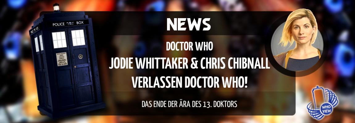 News | Jodie Whittaker & Chris Chibnall verlassen Doctor Who | Das Ende der Ära des 13. Doktors