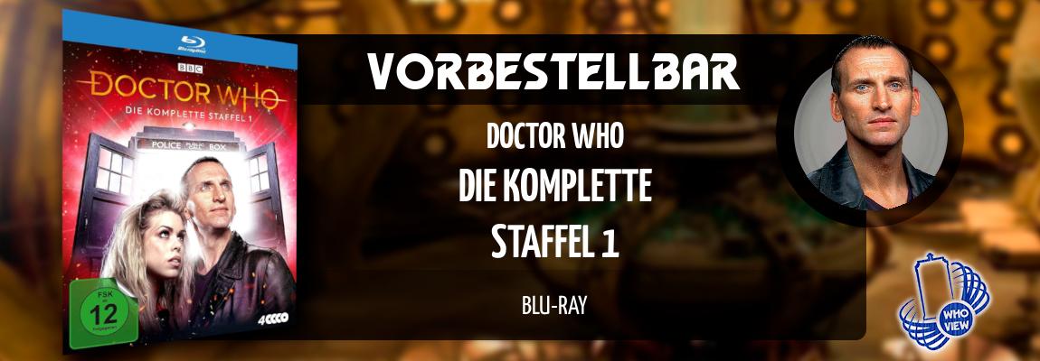 Vorbestellbar | Doctor Who – Die komplette Staffel 1 | Neuauflage auf Blu-ray