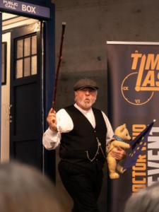 Terry Molloy auf der TimeLash