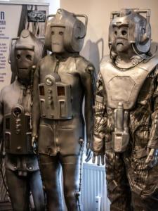 Cybermen auf der TimeLash