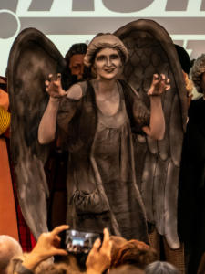 Weeping Angel Cosplay auf der TimeLash