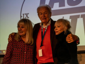 Anneke Wills, William Russell, Katy Manning auf der TimeLash